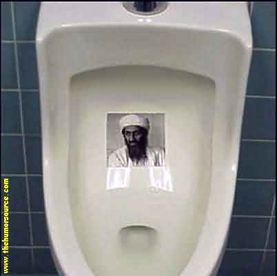Give bin Laden A Shower!