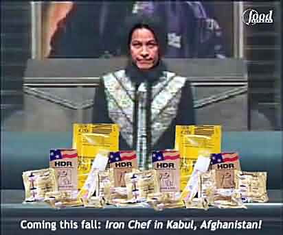 Iron Chef Goes to Kabul, Afghanistan!