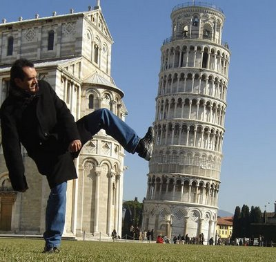 Leaning the Tower of Pisa